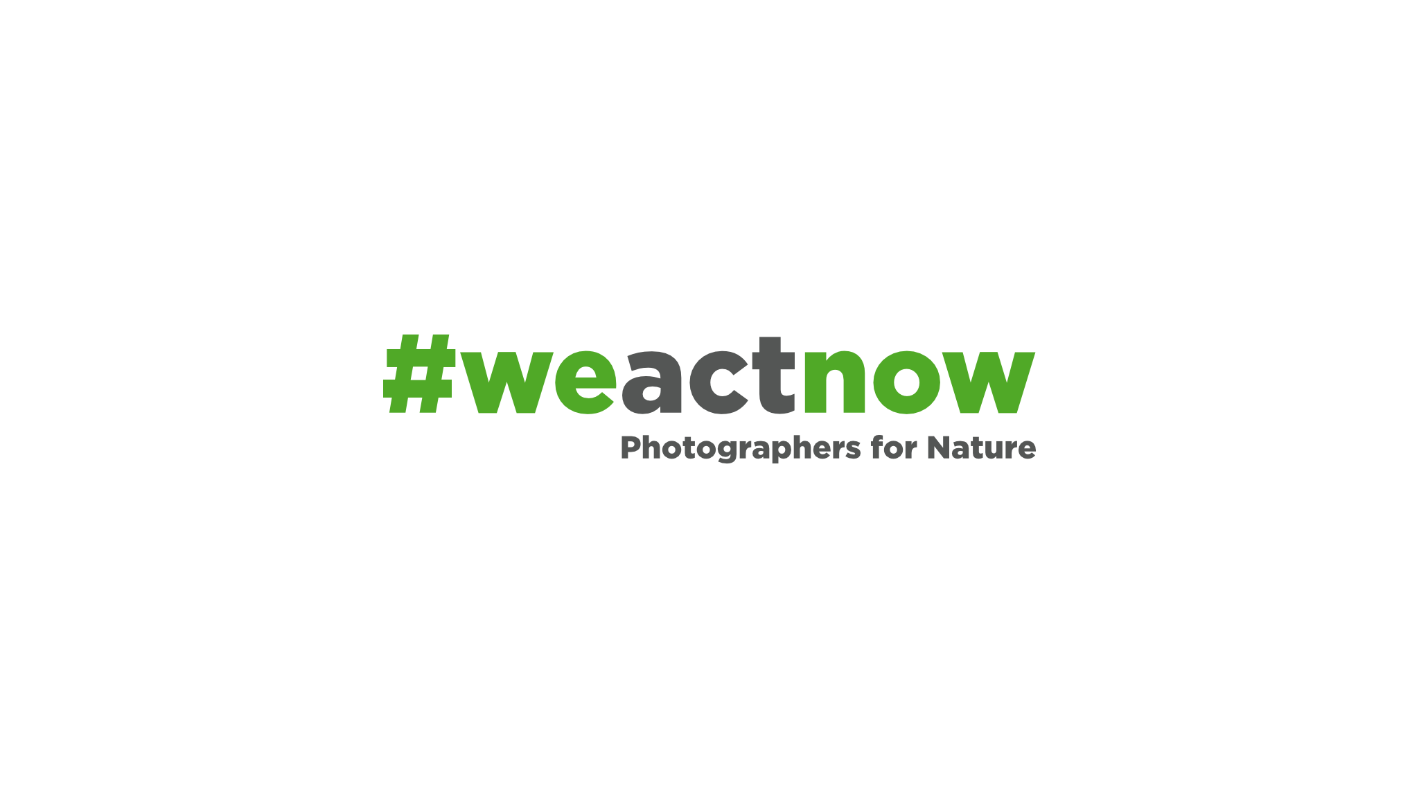 We Act Now - Photographers for Nature